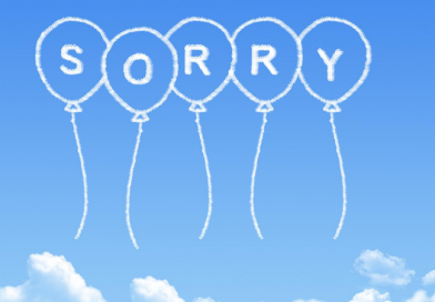 Sorry Means Change