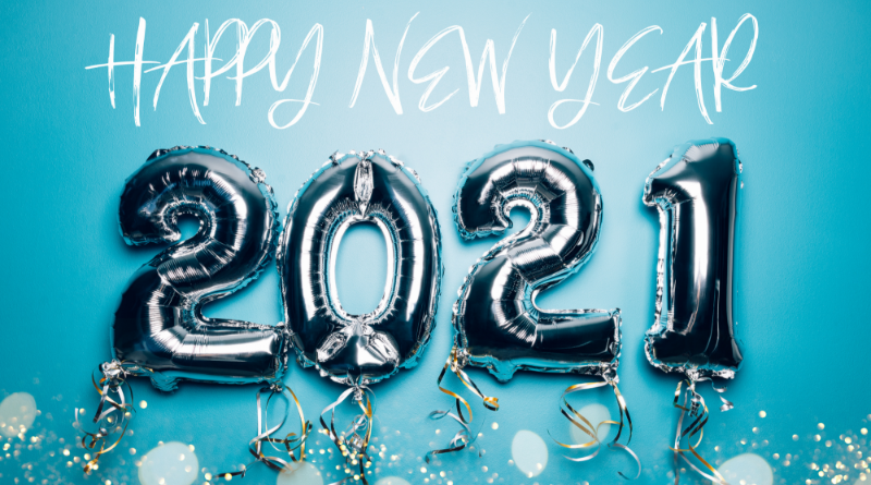 Happy New Year: Welcome 2021!